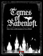 Tomes of Ravenloft | A Curse of Strahd Supplement
