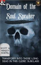 Domain of the Soul Speaker (Fantasy Grounds)