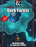 Dark Forest battlemap - jpg/mp4 - Fantasy Grounds/Foundry VTT
