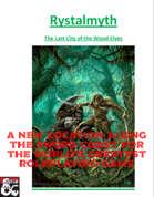 Rystalmyth: the last elven city (new location along the Sword Coast