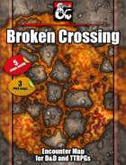 Broken Crossing battlemap - jpg/mp4 & Fantasy Grounds .mod