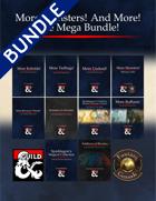 More Monsters! And More! The Mega Bundle! [BUNDLE]
