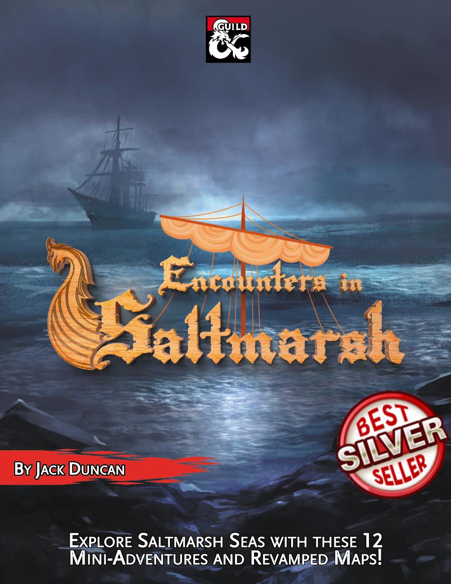 Encounters in Saltmarsh Cover