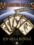 Monster Hunts Weekly PDF Mega Bundle [BUNDLE]