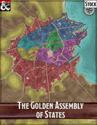 Elven Tower - Golden Assembly of States | Stock City Map