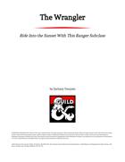 The Wrangler Ranger