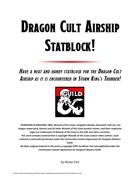 Dragon Cult Airship Statblock