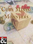 Cube Minis: Monsters