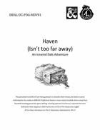 "CCC-DC-POA-MDV01, \""Haven (Isn\'t too far Away)"