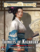 Trinkets of Kozakura