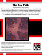 CM02: Candlekeep Mysteries: The Fey Path