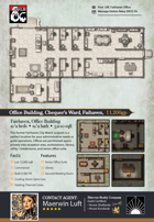 Eberron Realty Company: Fairhaven Office Building Battle Map