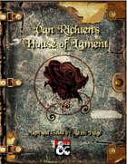Van Richten's House of Lament DM Supplemental Guide and Maps