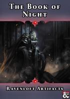 The Book of Night - Ravenloft Artifacts