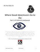 DC-PoA-OGG-01 Where Good Adventurers Go to Die