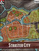 Elven Tower - Straster City | Stock City Map