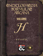 Encyclopaedia Formulae Arcana - H (Fantasy Grounds)