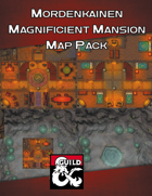 Mordenkainen Magnificent Mansion Map Pack