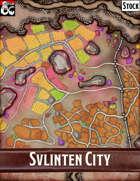 Elven Tower - Svlinten City | Stock City Map