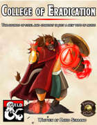 Bard College - The College of Eradication (Fantasy Grounds)