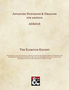 AD&D5E: The Eldritch Knight