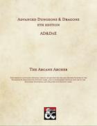 AD&D5E: The Arcane Archer