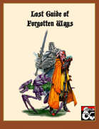 Lost Guide of Forgotten Ways