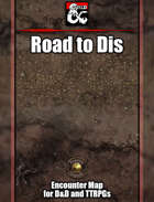 Road to Dis Battlemap w/Fantasy Grounds support - TTRPG Map