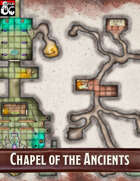 Elven Tower - Chapel of the Ancients | 30x30 Stock Battlemap