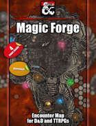 Magical Forge - 4 maps - jpg/mp4 & Fantasy Grounds .mod