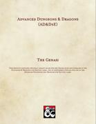 AD&D5E: The Genasi