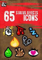 65 Status Effects Icons