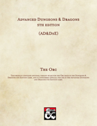 AD&D5E: The Orc