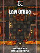 Law Office Battlemap w/Fantasy Grounds support - TTRPG Map