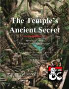 The Temple's  Ancient Secret: Adventure One of The Song of Amhep Campaign