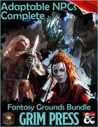 Complete Adaptable NPCs Fantasy Grounds [BUNDLE]