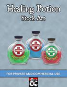 Stock Art: Healing Potions
