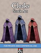 Stock Art: Cloaks