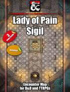 Lady of Pain, Sigil - 3 maps - jpg/mp4 & Fantasy Grounds .mod