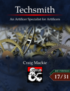 Techsmith: An Artificer Specialist for Artificers