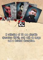 24 NPCs
