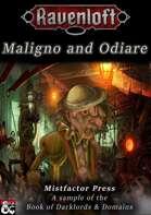 Darklords & Domains: Maligno and Odiare