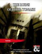 The Ruins of Ghor Tonash