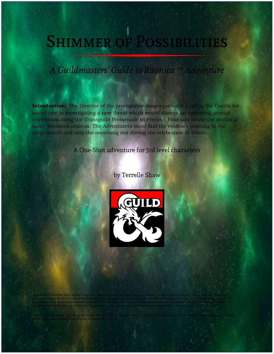 Cover of Shimmer of Possibilities
