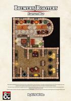 Brewery/Roastery Fantasy Map