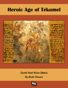 Heroic Age of Tekumel Quickstart (Beta)