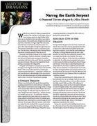 Narrog the Earth Serpent (FREE)