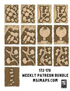 Weekly Patreon Bundle 172-178