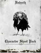 Undeath -Character Sheet Pack