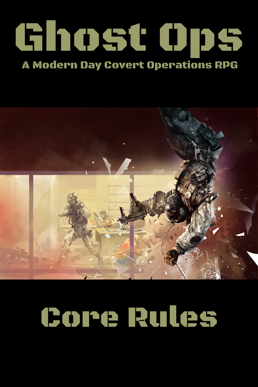 Ghost Ops - A Modern Day Covert Ops RPG